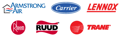 AC Heating Brand logos